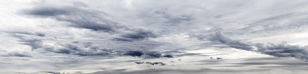 Clouds Print by Les Cunliffe