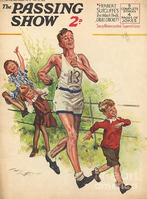 1930s,uk,the Passing Show,magazine Cover Print by The Advertising Archives