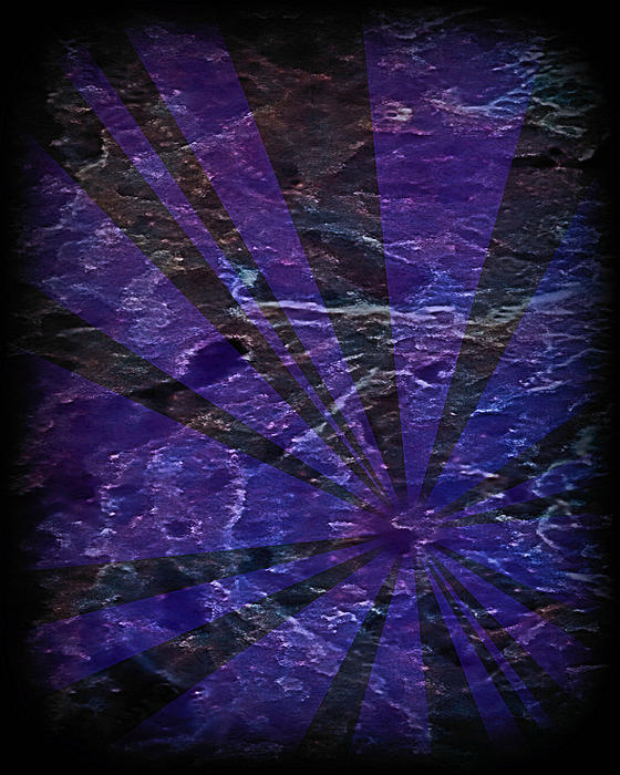 Abstract 95 Print by J D Owen