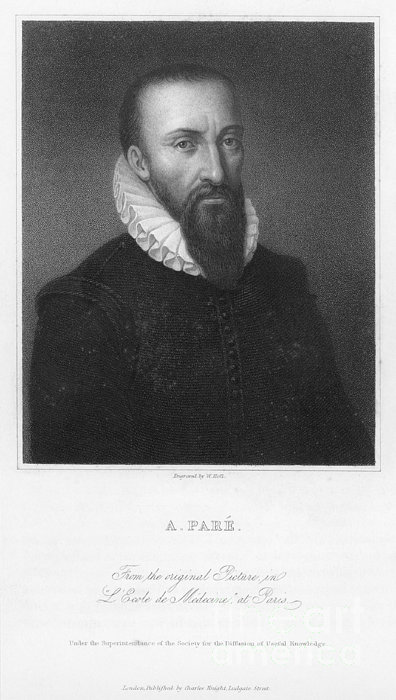 Ambroise Pare (1517?-1590) Print by Granger