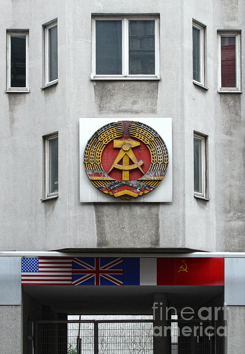 Berlin - Checkpoint Charlie Print by Gregory Dyer