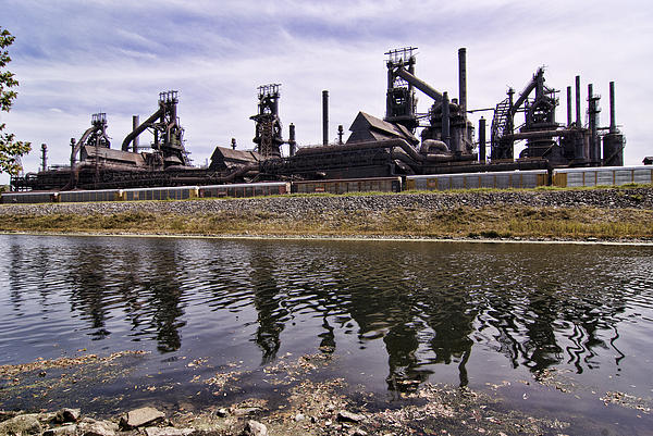 Bethlehem Steel Print by Michael Dorn