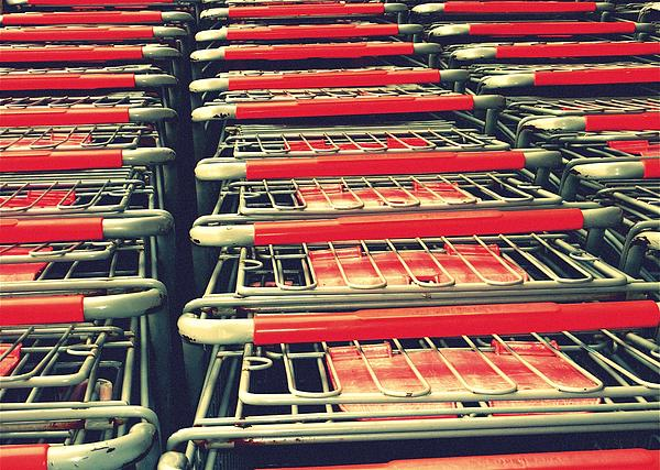 Carts Print by Gia Marie Houck
