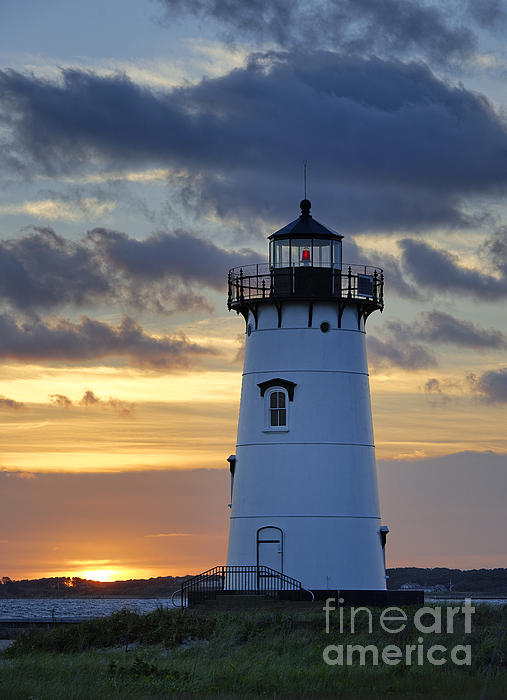Edgartown Lighthouse Print by John Greim