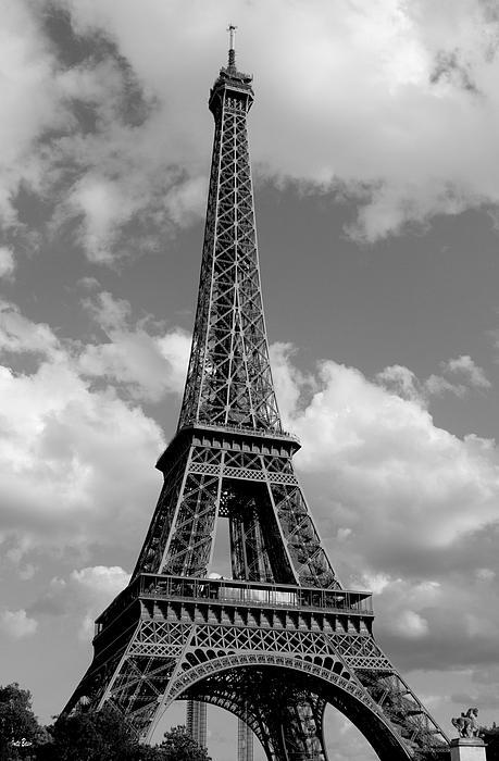 Eiffel Tower Print by Ivete Basso