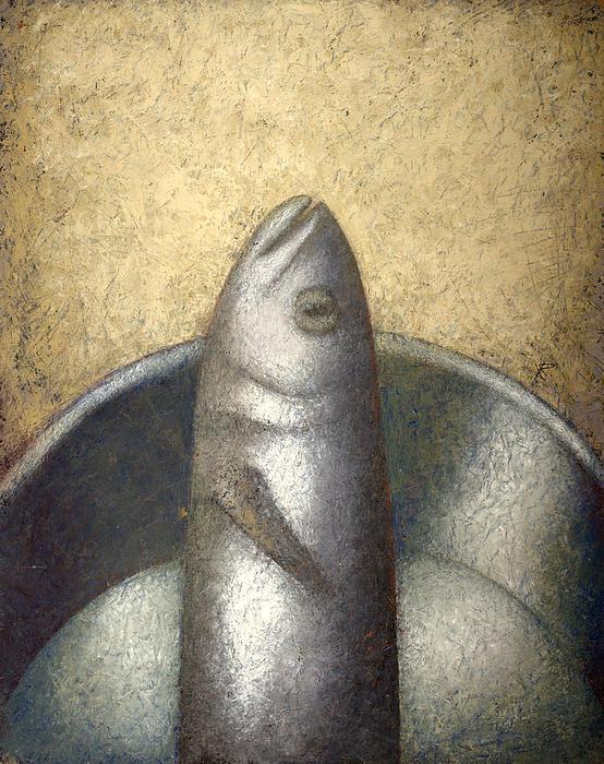 Fish Print by Nicolay  Reznichenko