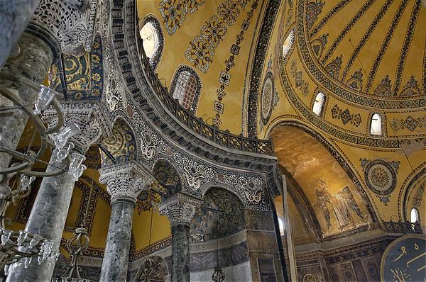 Hagia Sophia Print by Ayhan Altun