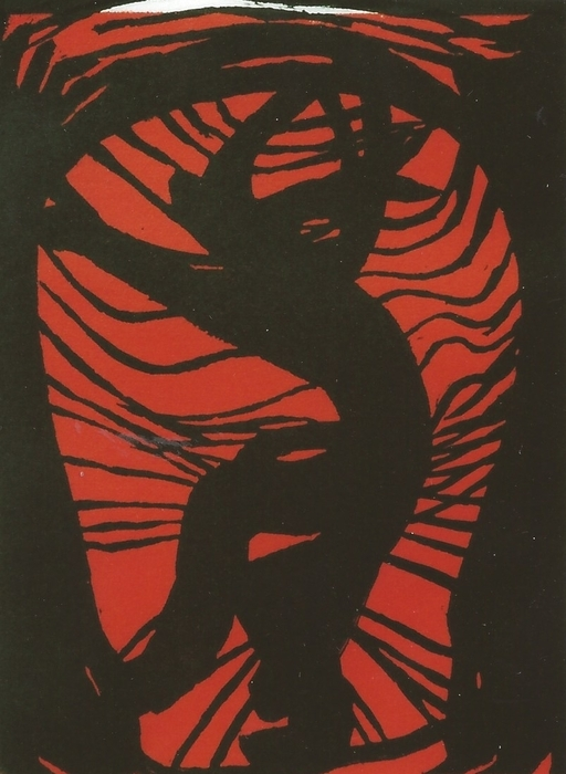 4. Imprisoned Print by Mollie Townsend