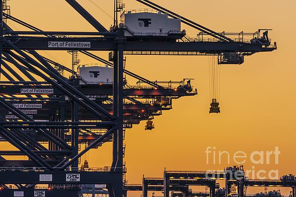 Industrial Print by Svetlana Sewell