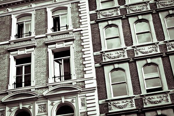 London Architecture Print by Tom Gowanlock