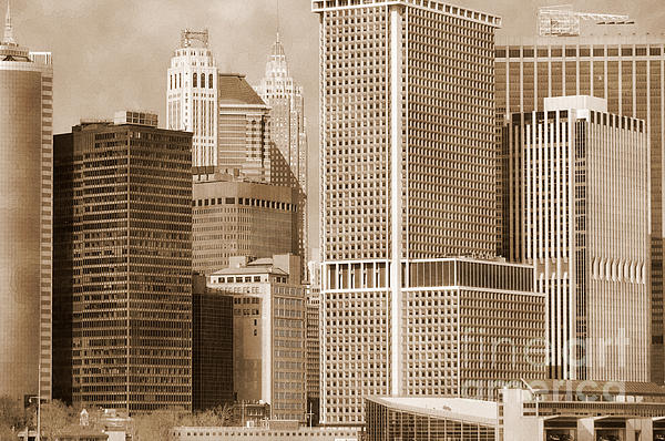 RicardMN Photography - Manhattan buildings vintage
