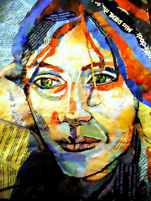 Helena Wierzbicki - Self Portrait