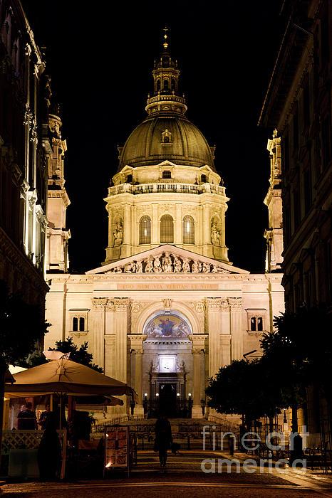 St. Stephen's Basilica In Budapest Print by Michal Bednarek