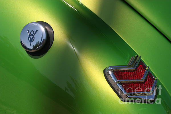 40 Ford - Tank N Tail Light-8527 Print by Gary Gingrich Galleries