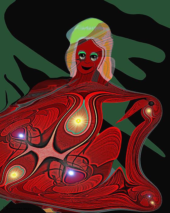 444 - Body Metamorphosis  ... Print by Irmgard Schoendorf Welch