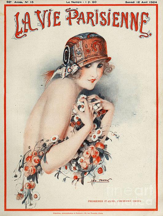 La Vie Parisienne  1924 1920s France Print by The Advertising Archives