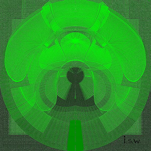 471 - The Keyhole Print by Irmgard Schoendorf Welch