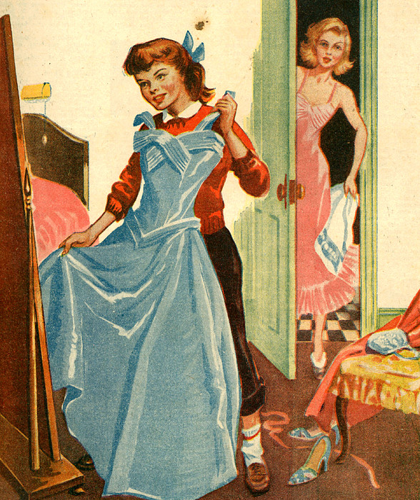 1950s Uk Illustrations Magazine Plate By The Advertising Archives