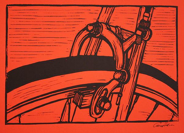 Brake Print by William Cauthern