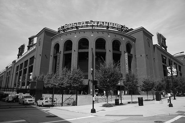 Busch Stadium - St. Louis Cardinals Print by Frank Romeo