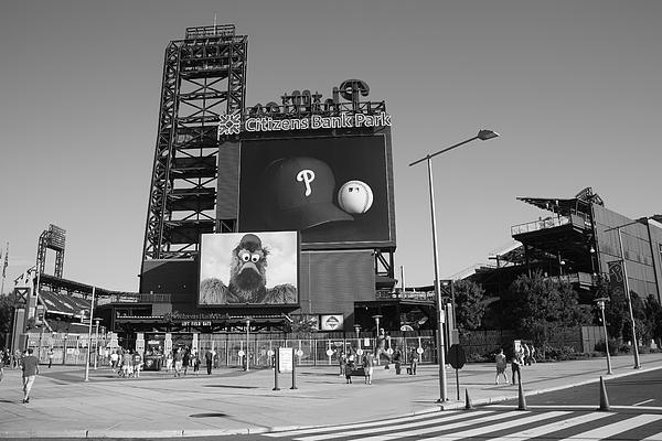 Citizens Bank Park - Philadelphia Phillies Print by Frank Romeo