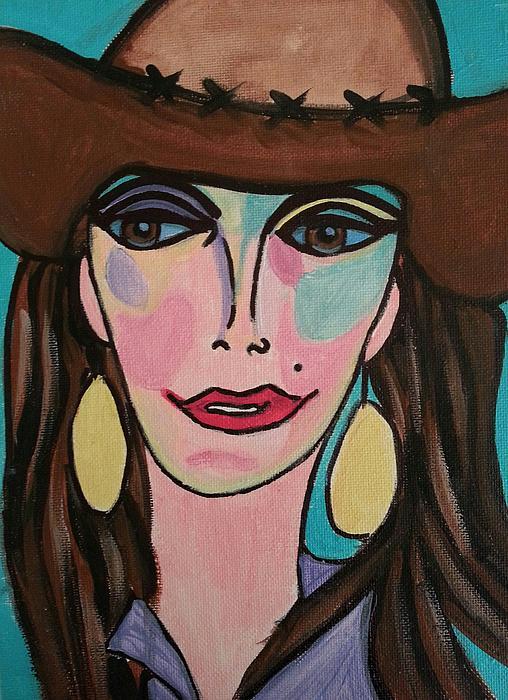 Cowgirl Print by <b>Nikki Dalton</b> - 5-cowgirl-nikki-dalton