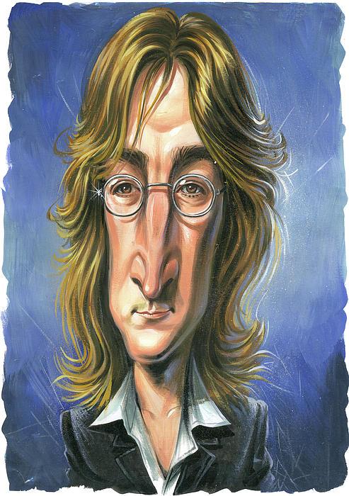 John Lennon Print by Art