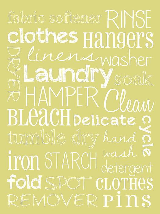 Laundry Room Print by Jaime Friedman