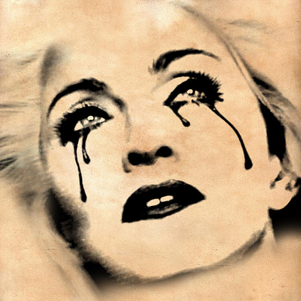 Madonna  Print by Mark Ashkenazi