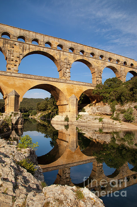 Pont Du Gard Print by Brian Jannsen