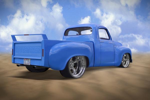 56 Studebaker Truck Print by Mike McGlothlen