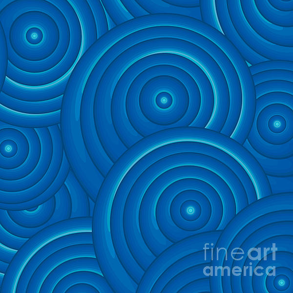 Blue Abstract Art