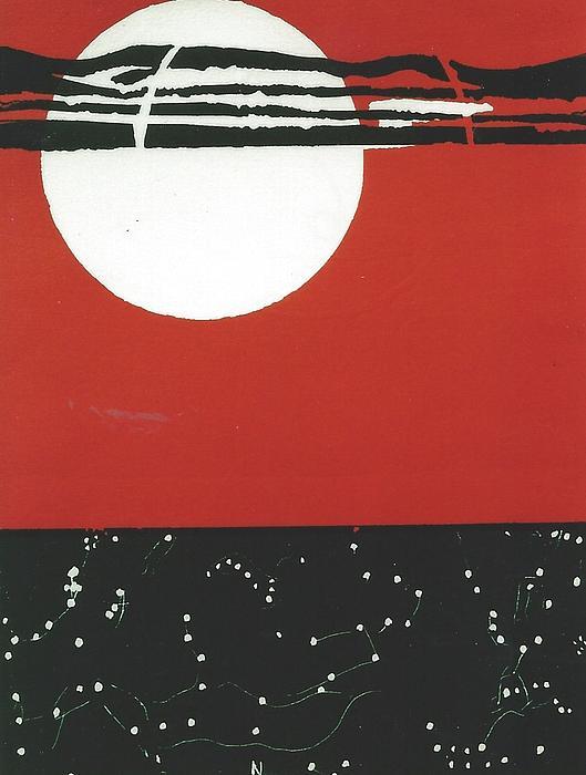 6. Flight Path Print by Mollie Townsend