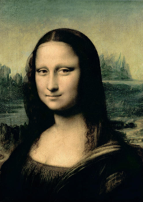 Mona Lisa Print by Leonardo Da Vinci
