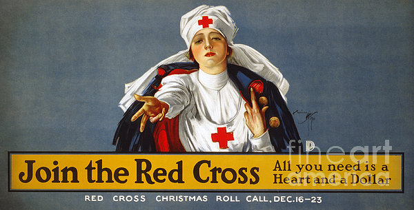 Red Cross Poster, 1917 Print by Granger