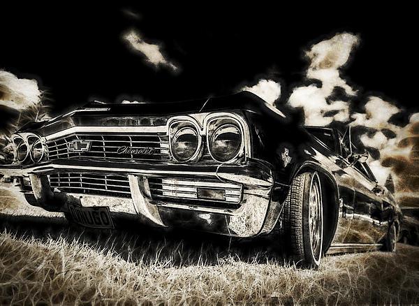 65 Chev Impala Print by motography aka Phil Clark