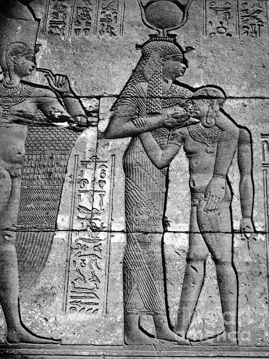 Cleopatra Vii (69-30 B.c.) Print by Granger