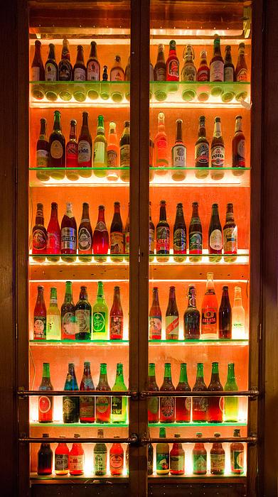 76 Bottles Of Beer Print by Semmick Photo