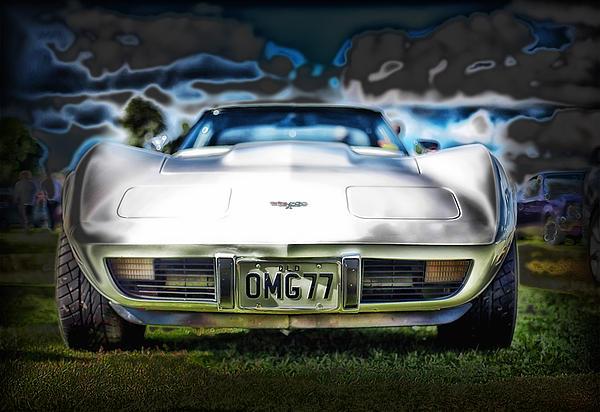 77 Corvette Print by Mountain Dreams