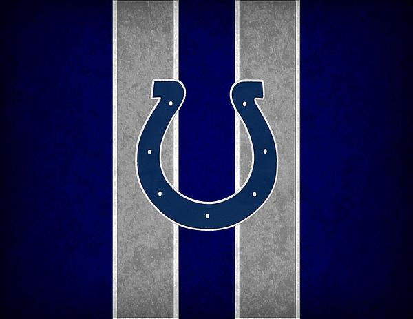 Indianapolis Colts Print by Joe Hamilton