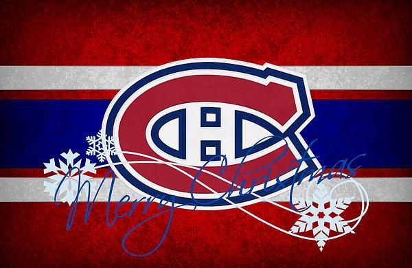 Montreal Canadiens Print by Joe Hamilton