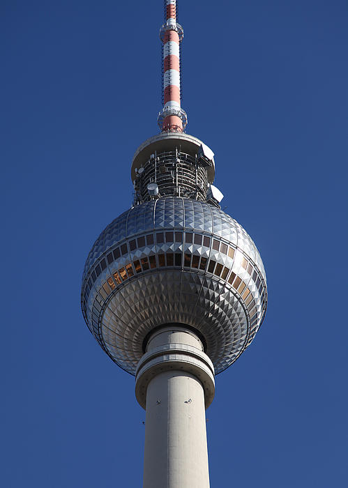 Berlin Tv Tower Print by Falko Follert