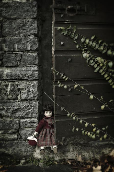 Old Doll Print by Joana Kruse