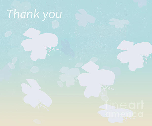 Thank You Print by Trilby Cole