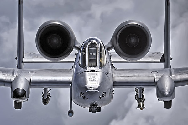 A-10 Thunderbolt II Print by Adam Romanowicz