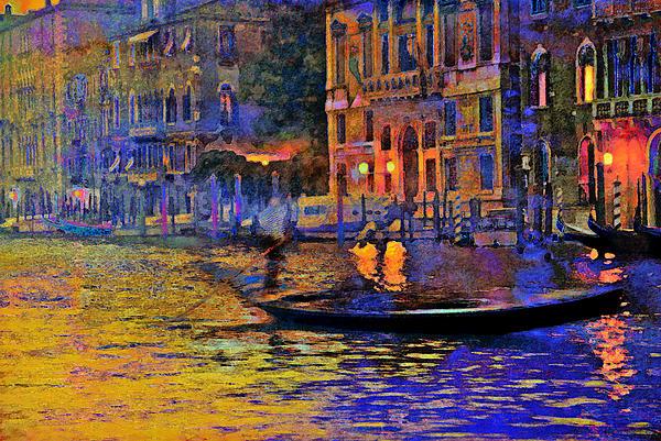 A Dream Of Venice Print by Steven Boone