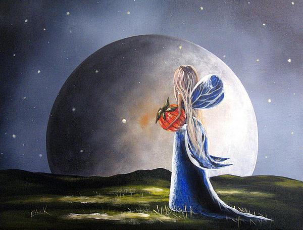 A Fairy Tale By Shawna Erback Print by Shawna Erback