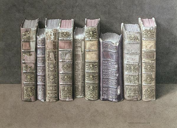 A Fine Library Print by Jonathan Wolstenholme