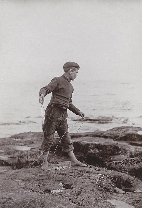 A Fisher Laddie Print by James Patrck