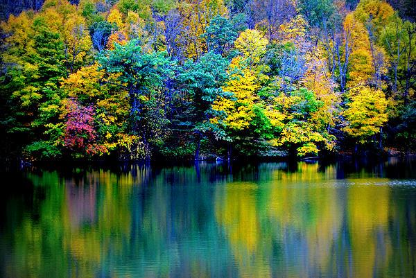 A Glorious Autumn Print by Jon Van Gilder